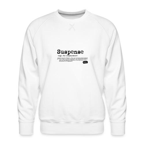 Suspense - Männer Premium Pullover