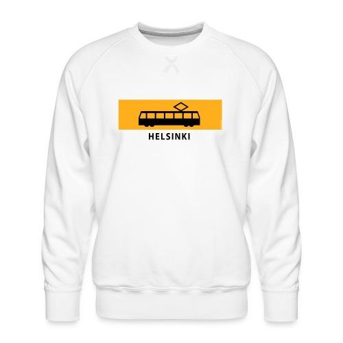 RATIKKA PYSÄKKI HELSINKI T-paidat ja lahjatuotteet - Miesten premium-collegepaita