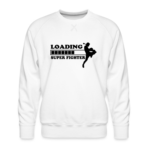 fighter loading - Mannen premium sweater