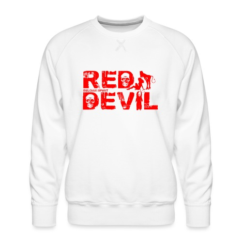 BELGIAN-RED-DEVIL - Sweat ras-du-cou Premium Homme