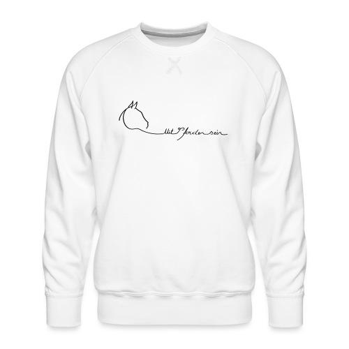 MPS Logoschriftzug gr offizieller Logoschriftzug - Männer Premium Pullover