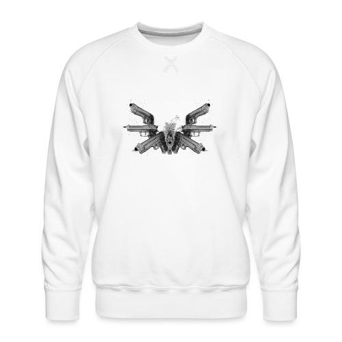 guns wings.png - Sweat ras-du-cou Premium Homme
