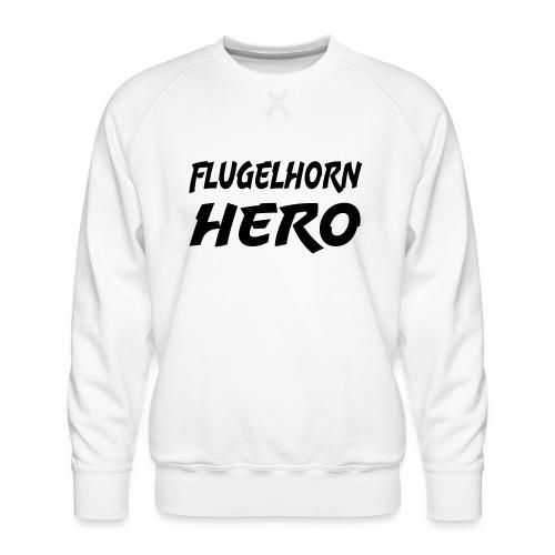 Flugelhorn Hero - Premium-genser for menn