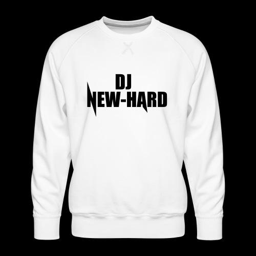 DJ NEW-HARD LOGO - Mannen premium sweater