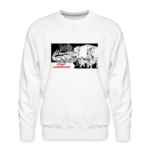 vinyl solutionz - Men's Premium Sweatshirt