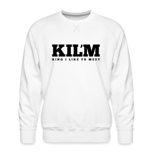 King I Like to Meet - Mannen premium sweater