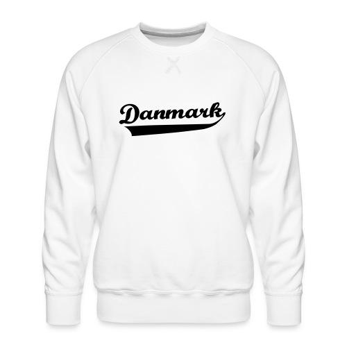 Danmark Swish - Herre premium sweatshirt