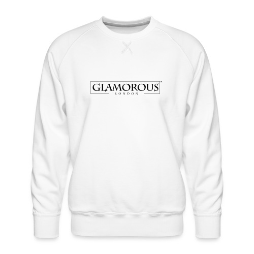 Glamorous London LOGO - Men's Premium Sweatshirt