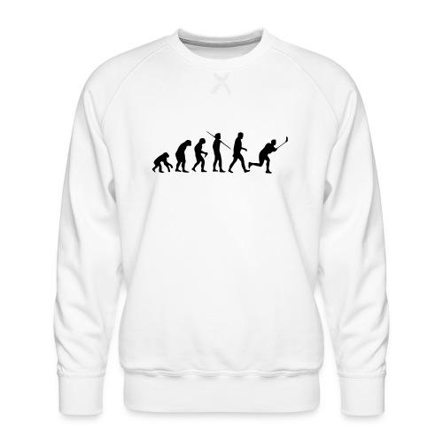 Floorball Evolution Black - Männer Premium Pullover