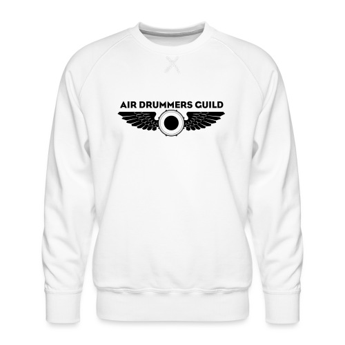ADG Drum'n'Wings Emblem - Men's Premium Sweatshirt