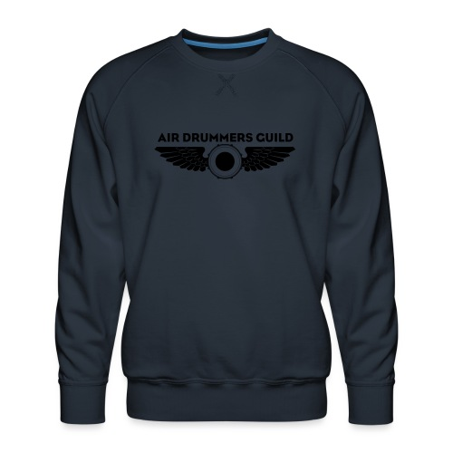 ADG Drum'n'Wings Emblem - Men's Premium Sweatshirt