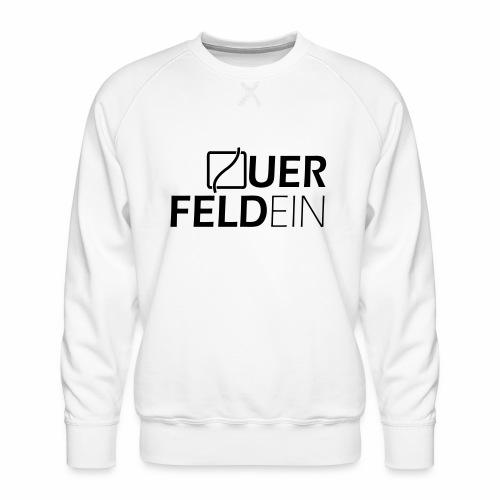 Querfeldein Logo - Männer Premium Pullover