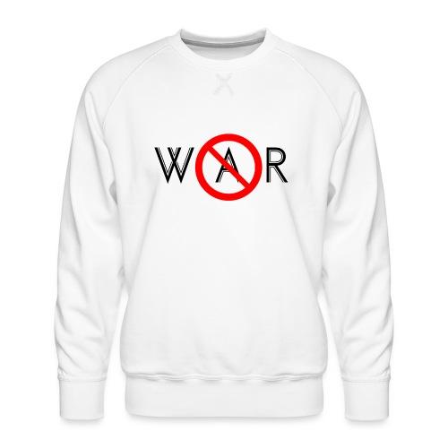 TIAN GREEN - No War - Männer Premium Pullover
