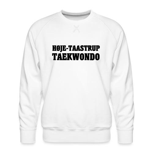 Høje-Taastrup Front Tryk - Herre premium sweatshirt