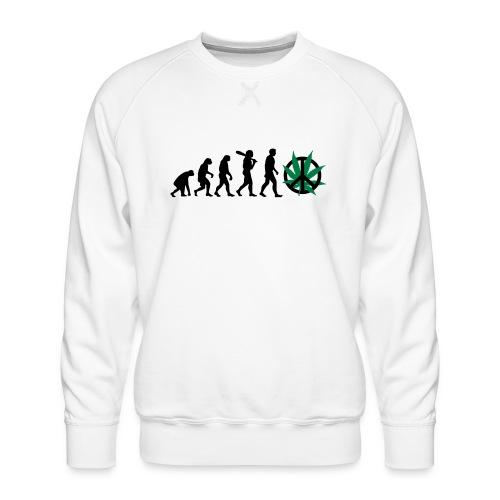 Evolution Cannabis - Männer Premium Pullover