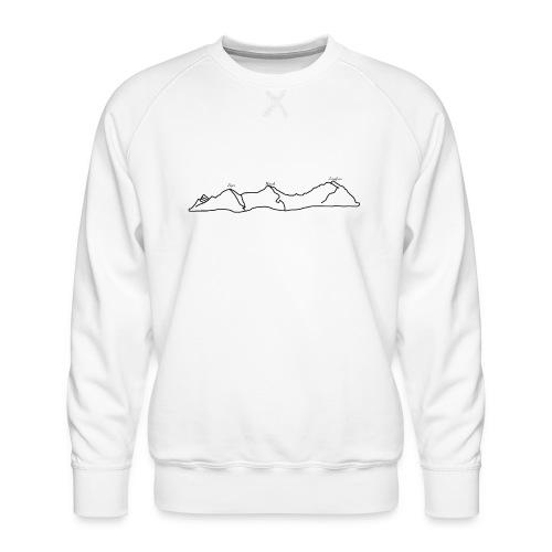 Eiger, Mönch und Jungfrau - Männer Premium Pullover