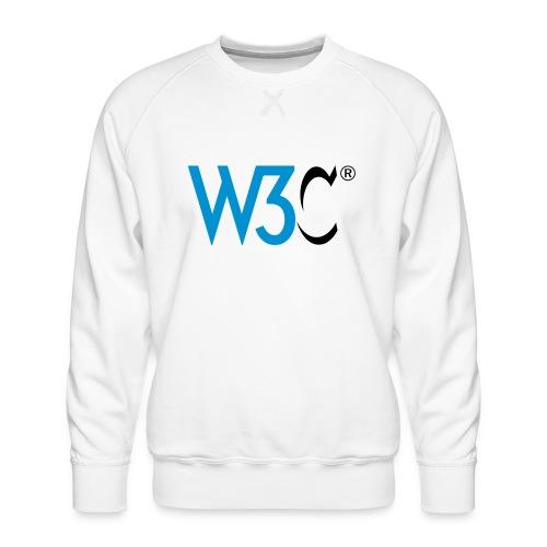w3c - Men's Premium Sweatshirt
