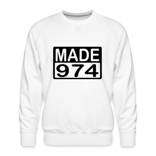 Made 974 - v2 - Sweat ras-du-cou Premium Homme