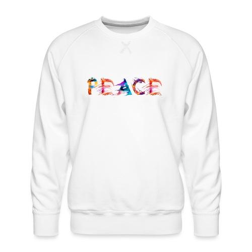 Peace - Sweat ras-du-cou Premium Homme
