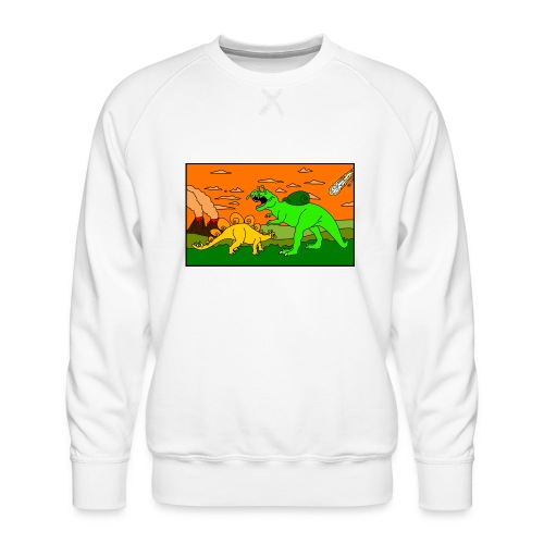 Schneckosaurier von dodocomics - Männer Premium Pullover