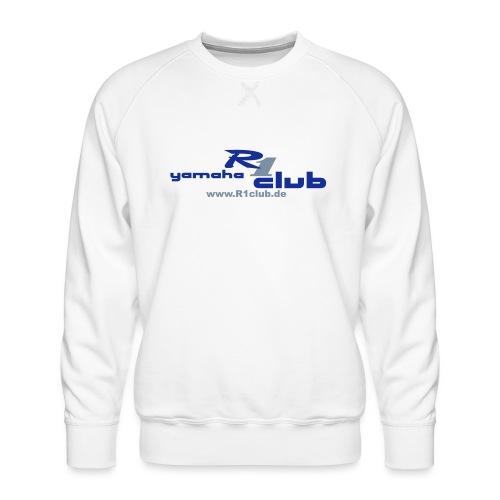 R1club Logo blau - Männer Premium Pullover