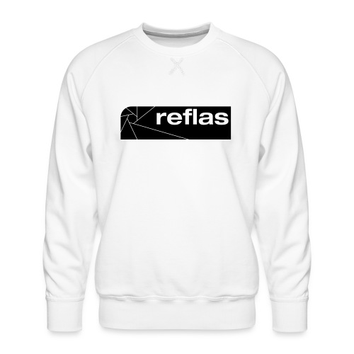 Reflas Clothing Black/Gray - Felpa premium da uomo