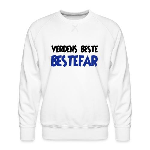 Verdens beste bestefar - Men's Premium Sweatshirt