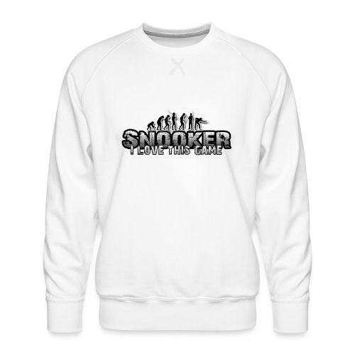 snooker i love this game - Männer Premium Pullover