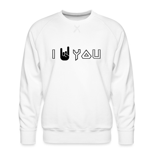 i rock you - Mannen premium sweater