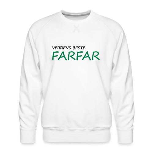 Verdens beste farfar - Men's Premium Sweatshirt
