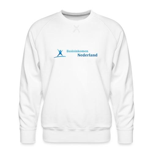 Logo Basisinkomen Nederland 2 - Mannen premium sweater