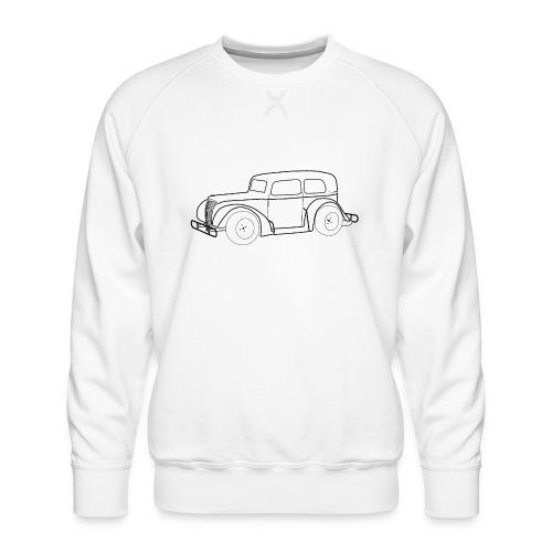 Racing Car schwarz - Männer Premium Pullover