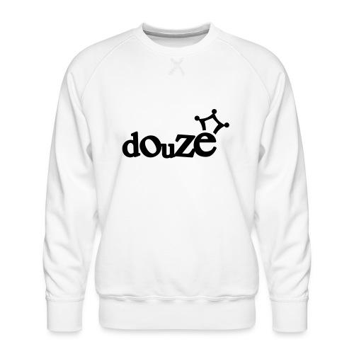 logo_douze - Sweat ras-du-cou Premium Homme