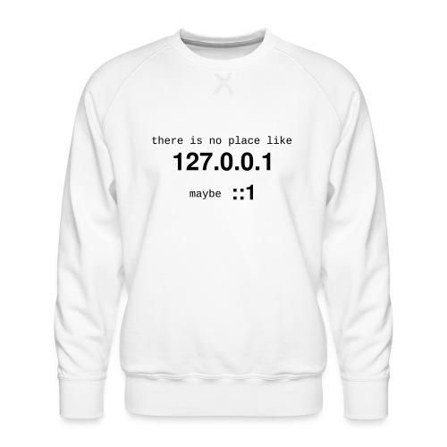 127-0-0-1-new - Sweat ras-du-cou Premium Homme