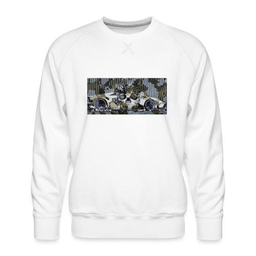 calavera style - Men's Premium Sweatshirt