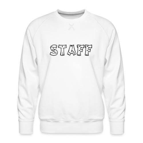 STAFF - Felpa premium da uomo