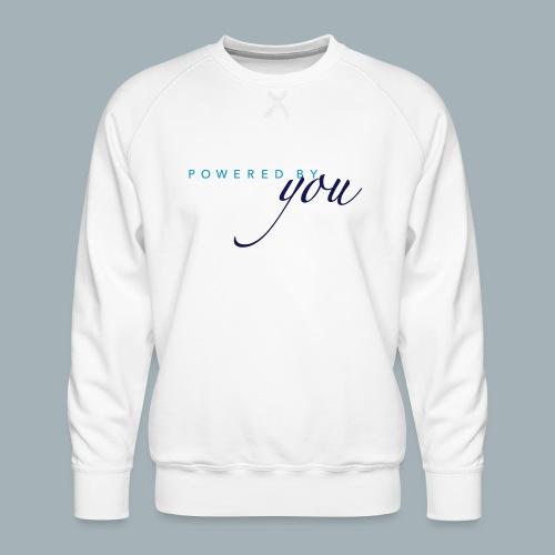 Powered By You Basketbal Shirt - Mannen premium sweater