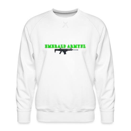 EMERALDARMYNL LETTERS! - Mannen premium sweater