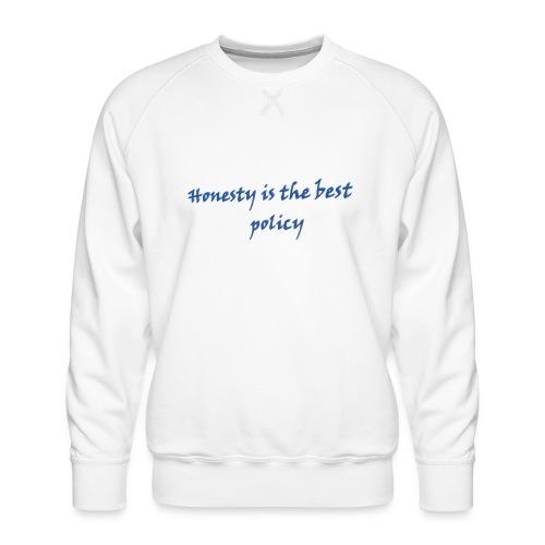 Proverbs in English - Men's Premium Sweatshirt