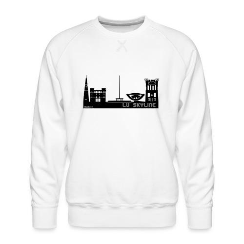 Lu skyline de Terni - Felpa premium da uomo