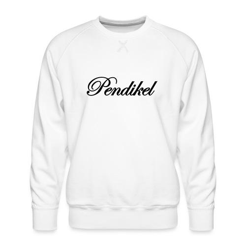 Pendikel Schriftzug (offiziell) Buttons & - Männer Premium Pullover