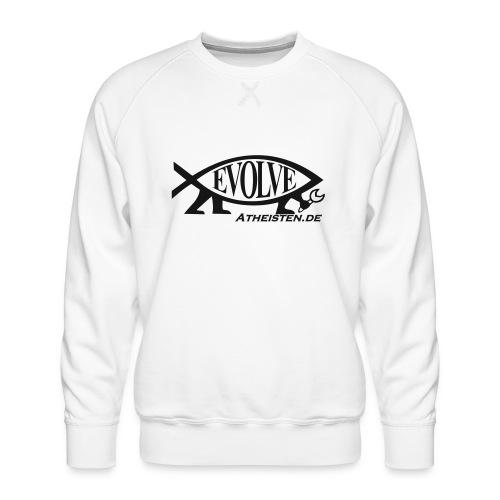 Atheisten Darwin Fish - Männer Premium Pullover