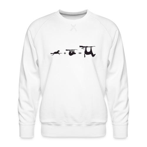 Lui paard Formule Luipaar - Mannen premium sweater