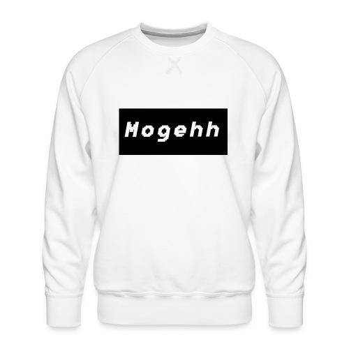 Mogehh logo - Men's Premium Sweatshirt