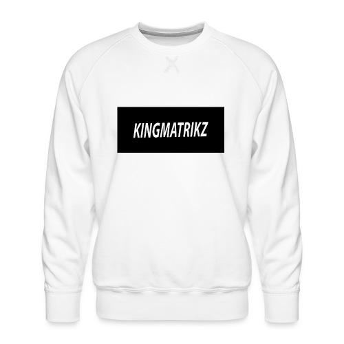 kingmatrikz - Herre premium sweatshirt