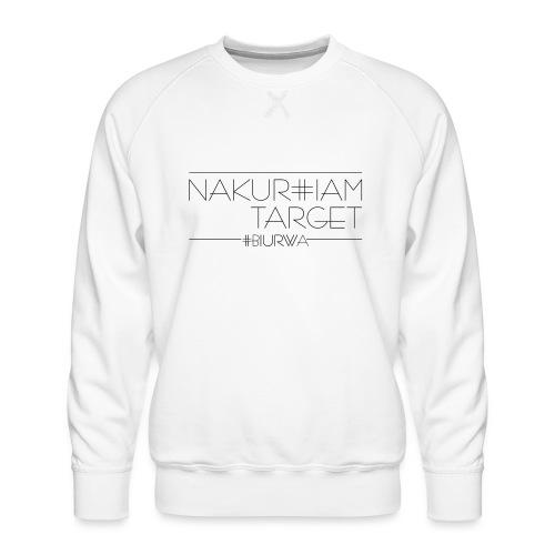 Nakurwiam Target - BLACK - Bluza męska Premium