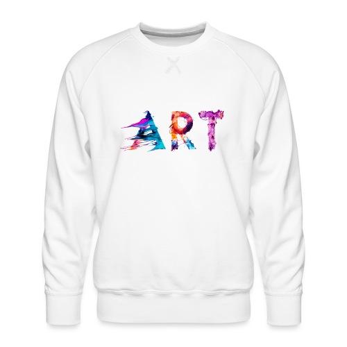 Art - Sweat ras-du-cou Premium Homme