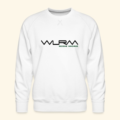 WLRM Schriftzug black png - Männer Premium Pullover