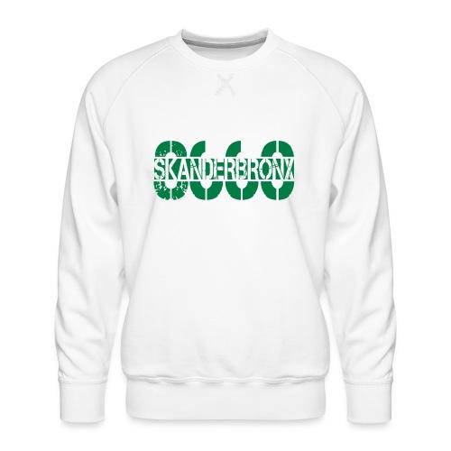 SKANDERBRONX - Herre premium sweatshirt