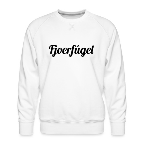 fjoerfugel - Mannen premium sweater